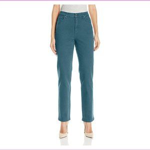 Gloria Vanderbilt Amanda Tapered Jeans -Rain Cloud